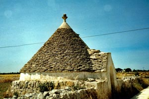 02-06-01 - Historic Trulli buildings on the way to Alberobello