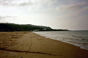 "01-11-02 - ""Personal"" beach at/with vista to Peschici"