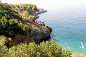 31-08-08 - Basilicata has just a small piece access to the sea, however; a very beautiful one