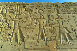 15-02-13 - Relief statues in the Karnak Temple