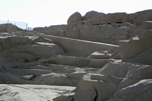 17-02-13 - The unfinished obelisk in the stone quarry of Aswan