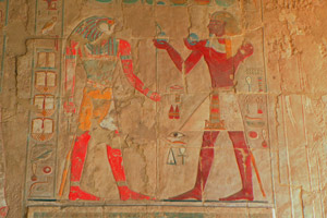 20-02-13 - Relief in the Temple of Hatshepsut in Thebes