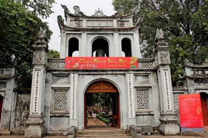 15-02-15 - Entry gate of the Temple of Literature