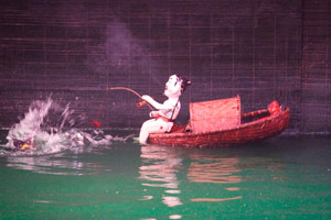 "16-02-15 - Spectacular water puppet theater ""Thang Long"""