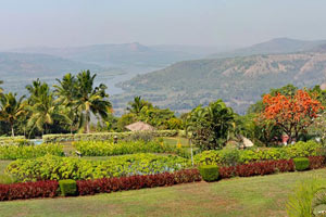 07-02-16 - Riverview Hotel Chiplun - view is incredible great