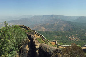 13-03-16 - Vista from Pratapgad Fort