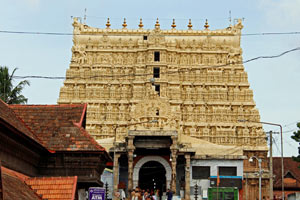 31-07-16 - Padmanabhaswamy - temple in Trivandum